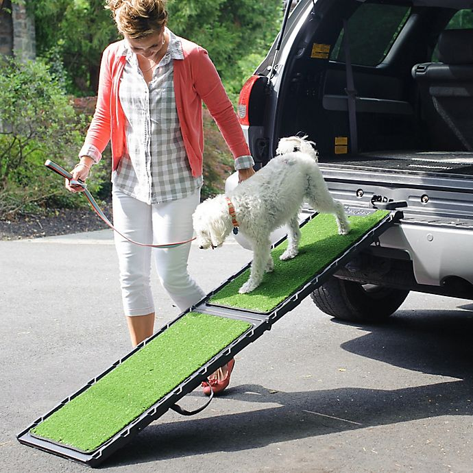 Alternate image 1 for Gen7Pets Natural-Step Full Size 72-Inch Pet Ramp