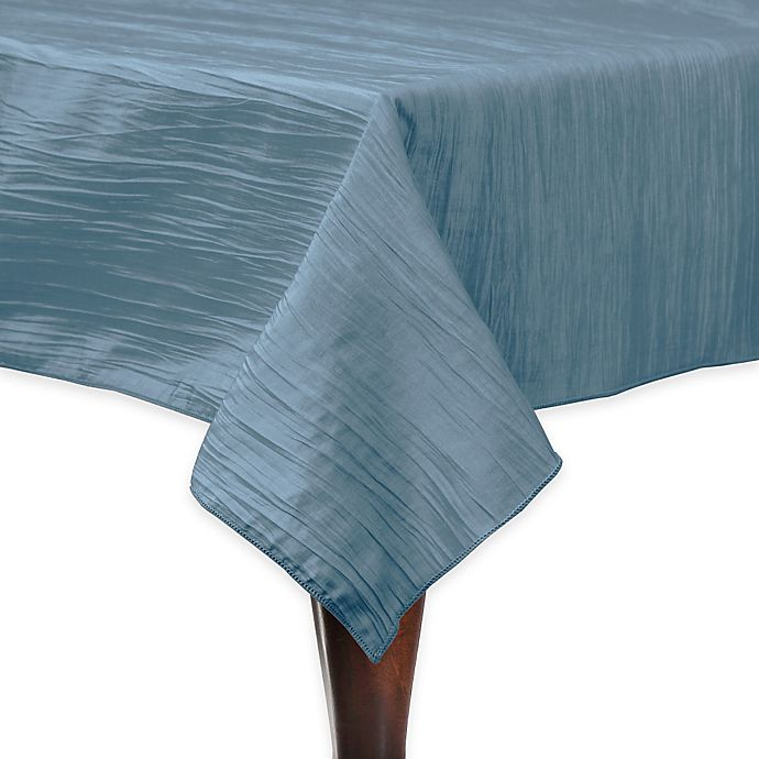 Alternate image 1 for Delano 50-Inch Square Tablecloth in Ice Blue
