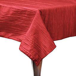 Ultimate Textile Delano 72-Inch Square Tablecloth in Red