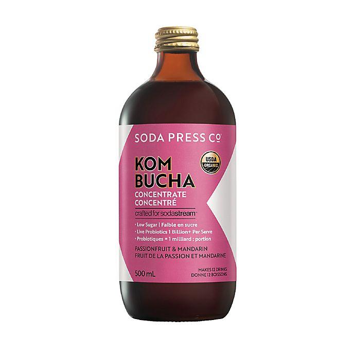 Alternate image 1 for SodaStream® Soda Press Kombucha Passionfruit and Mandarin Concentrate