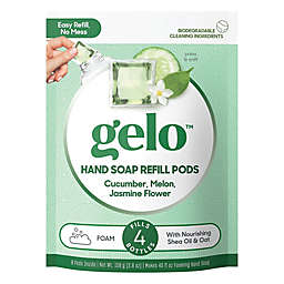 gelo™ 8-Count Cucumber Melon and Jasmine Foaming Hand Soap Refill Pods