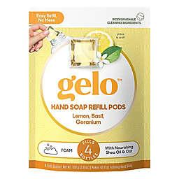 gelo™ 8-Count Lemon & Basil Germanium Foaming Hand Soap Refill Pods