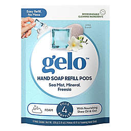 gelo™ 8-Count Sea Mist, Mineral & Freesia Foaming Hand Soap Refill Pods
