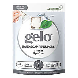 gelo™ 8-Count Clean & Clear Foaming Hand Soap Refill Pods