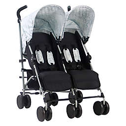 Your Babiie MAWMA By Snooki Chelsea Double Stroller in Marble