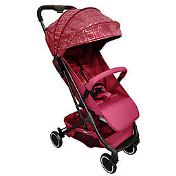 Your Babiie MAWMA By Snooki Soho Compact Travel Stroller in Wine