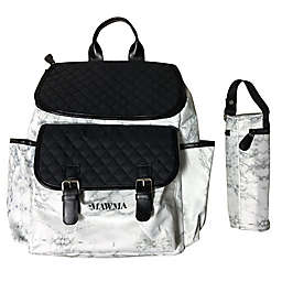 Your Babiie™ MAWMA By Snooki Backpack Diaper Bag in Marble