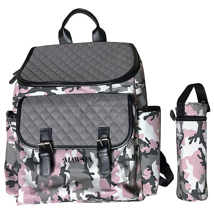 Alternate image 1 for Your Babiie™ MAWMA By Snooki Backpack Diaper Bag