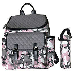 Your Babiie™ MAWMA By Snooki Backpack Diaper Bag in Blush Camo