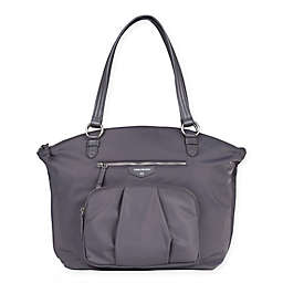 TWELVElittle® Allure Dome Satchel in Grey
