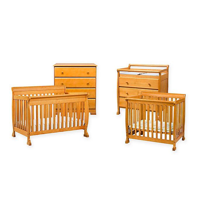 Davinci Kalani Nursery Furniture Collection In Honey Oak