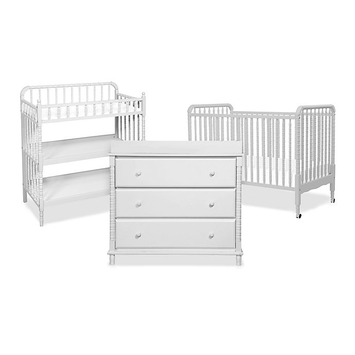 Davinci Jenny Lind Nursery Furniture Collection In Fog Grey