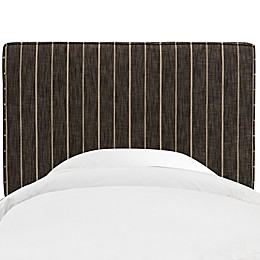 Skyline Furniture Aubrey Headboard in Fritz Peppercorn