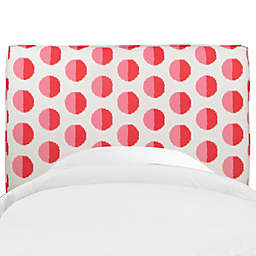 Skyline Furniture Aubrey Headboard in Margot Flamingo