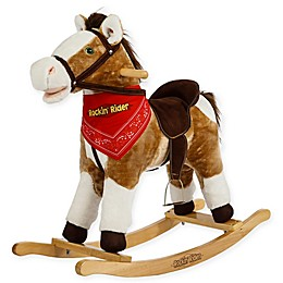 Rockin' Rider Henley Rocking Horse in Brown