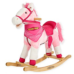 Rockin' Rider Holly Rocking Horse in Pink