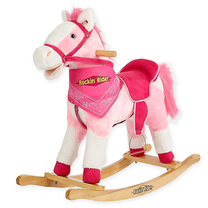 Alternate image 1 for Rockin' Rider Holly Rocking Horse in Pink
