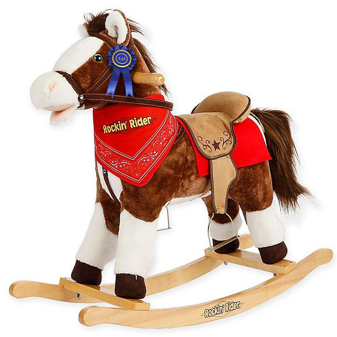 Alternate image 1 for Rockin' Rider Laredo Rocking Horse in Brown
