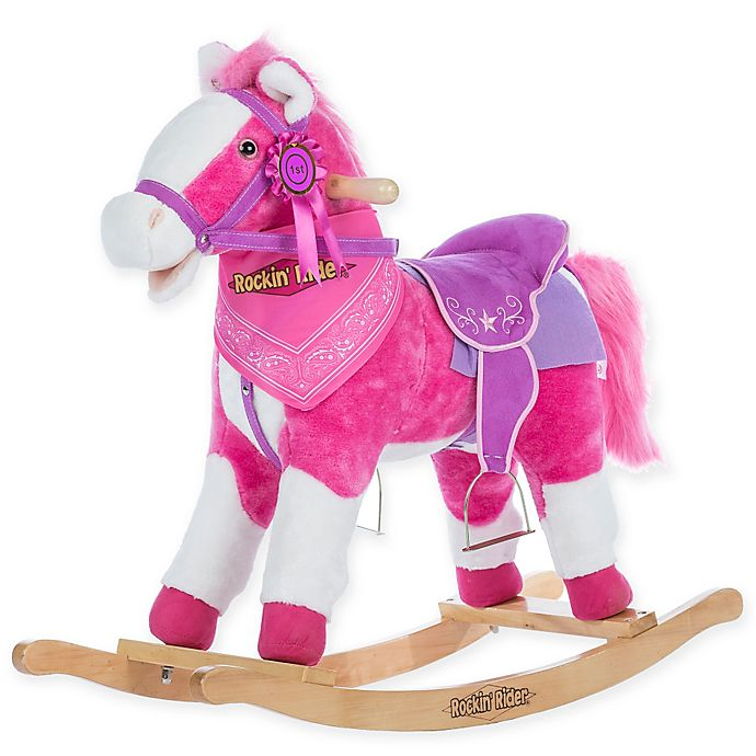 Alternate image 1 for Rockin' Rider Laurel Rocking Horse in Pink