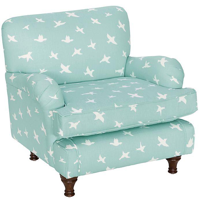 Skyline Furniture Sherman Kids Chair In Bird Silhouette