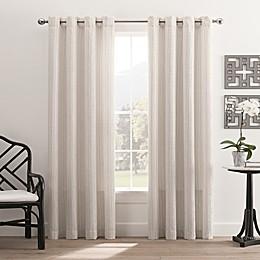Hyde Park Grommet Top Window Curtain Panel