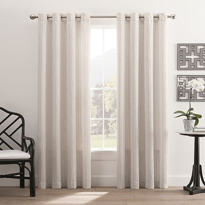 Alternate image 1 for Hyde Park Grommet Top Window Curtain Panel