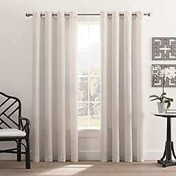 Hyde Park Grommet Top Window Curtain Panel