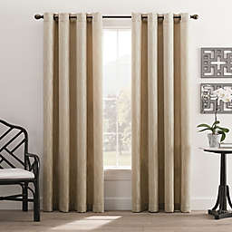 Hyde Park 95-Inch Grommet Top Window Curtain Panel in Cream
