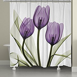 Laural Home® Tulips Shower Curtain
