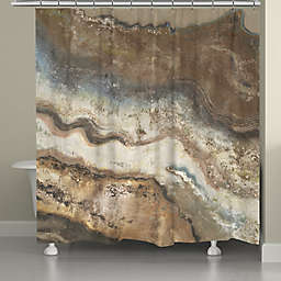 Laural Home® Lava Flow Shower Curtain