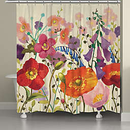 Laural Home® Couleur Printemps Shower Curtain
