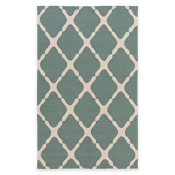 Alternate image 1 for Style Statements by Surya 2-Foot x 3-Foot Masis Indoor/Outdoor Accent Rug in Green/Grey