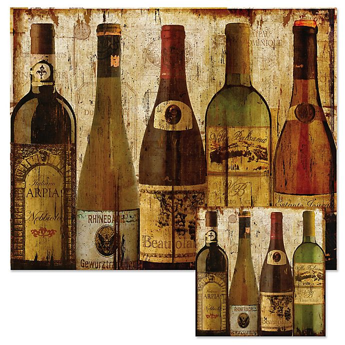 Wine Samples 12 Inch X 15 Inch Glass Cutting Board With