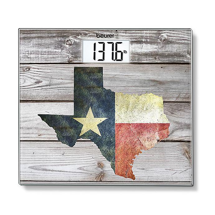 Alternate image 1 for Beurer Texas Digital Glass Scale