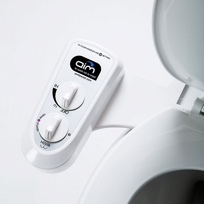 Dual Nozzle Self Cleaning Universal Bidet Attachment In