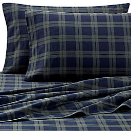 The Seasons Collection® Heavyweight Flannel Sheet Set in Blackwatch