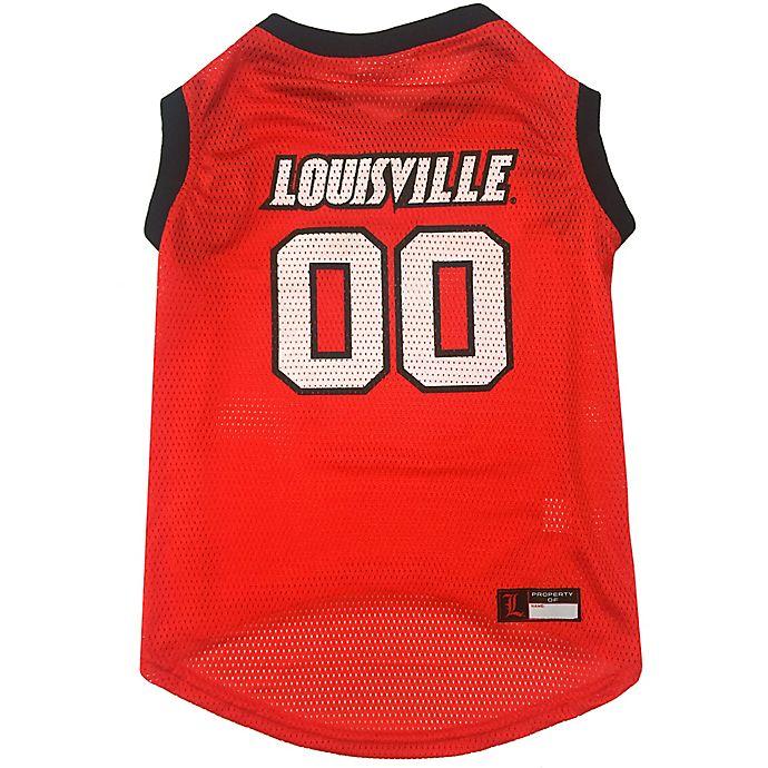 Alternate image 1 for University of Louisville Medium Pet Jersey