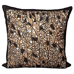 Mina Victory Beaded Branches Square Throw Pillow