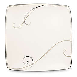 Noritake® Platinum Wave Large Square Accent Plate