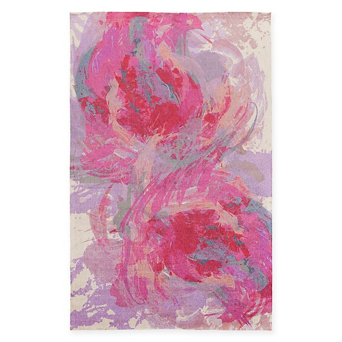 Alternate image 1 for Surya Valetta 2-Foot x 3-Foot Accent Rug in Hot Pink