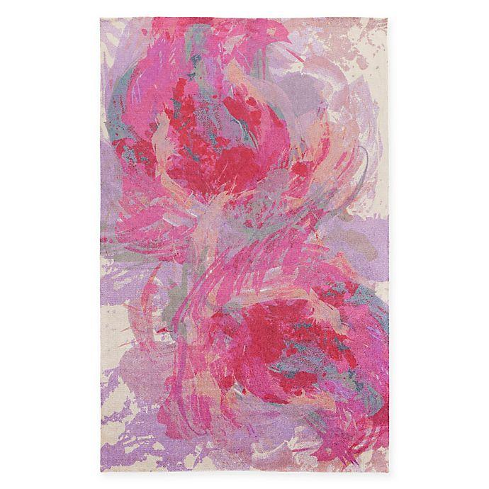 Surya Valetta Rug In Hot Pink