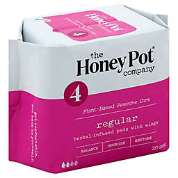 The Honey Pot 20-Count Herbal-Infused Pads