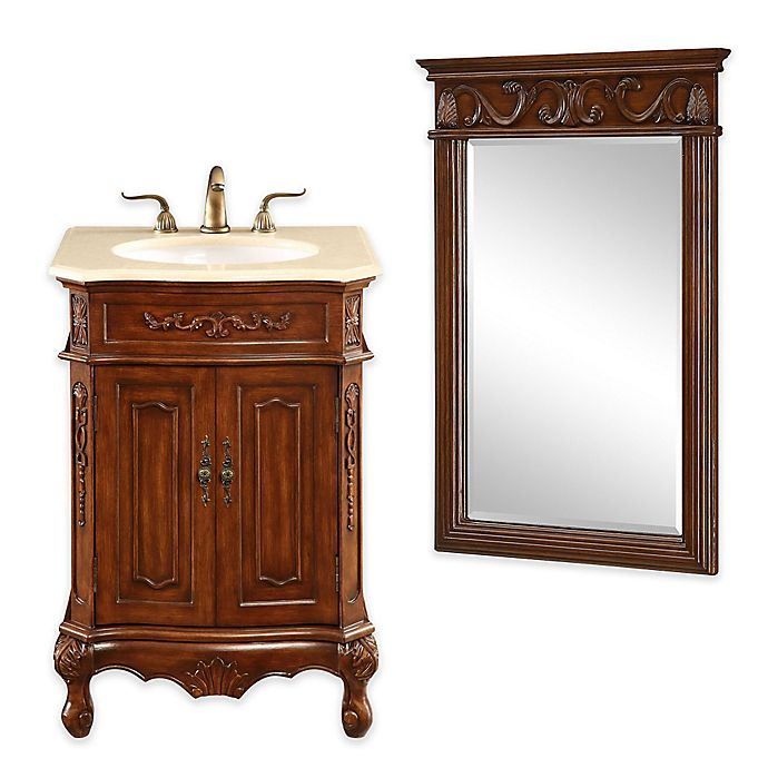 Palazzo Bathroom Vanity Collection in Brown | Bed Bath & Beyond