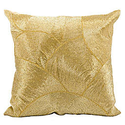 Mina Victory LUMINESCENCE Fan Design Square Throw Pillow