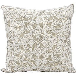 Mina Victory Beaded Vines Throw Pillow