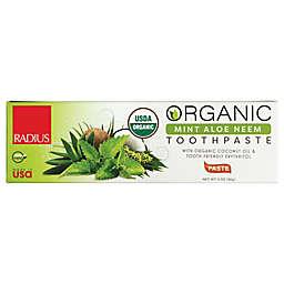 Radius 3 Oz. Organic Mint Aloe Neem Toothpaste
