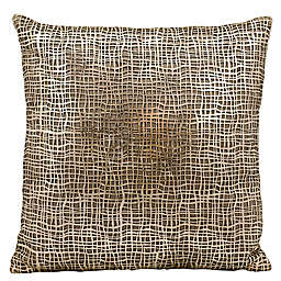 Mina Victory Couture Sitara Laser-Cut Throw Pillow