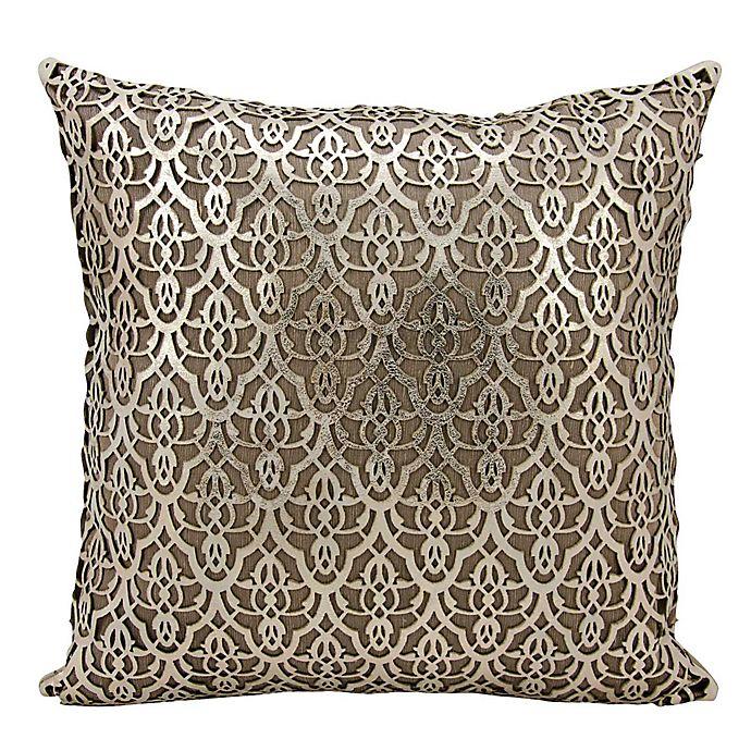 Alternate image 1 for Mina Victory Moorish Leaves Rectangular Throw Pillow