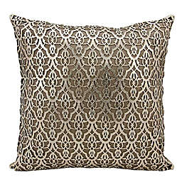 Mina Victory Moorish Leaves Rectangular Throw Pillow