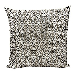 Mina Victory Moorish Leaves Square Throw Pillow